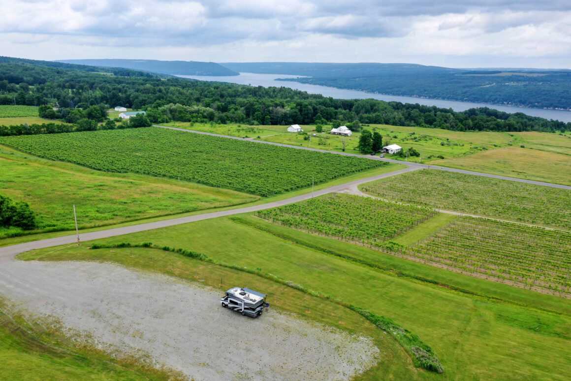 Heron Hill Winery - Harvest Host Finger Lakes Region